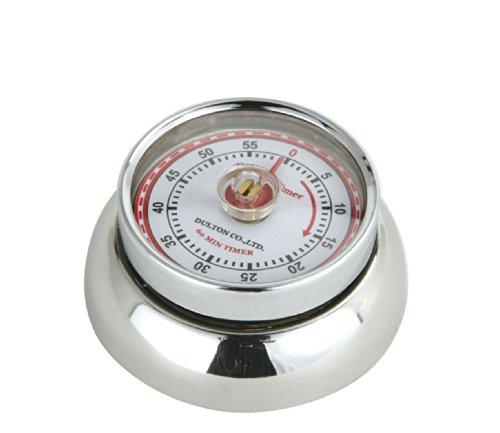 Zassenhaus 0000072303 Timer Speed, Edelstahl, Silber, 7 x 7 x 3 cm