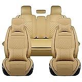 OYDA Siège de en Cuir avec Cinq sièges et Housse de siège de 360   ° pour modèle...