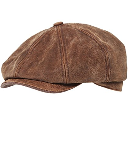 stetson-hat-burney-pig-skin-cap-medium-brown