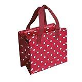 Mini Shoppingbag RETRO SPOTS red/white