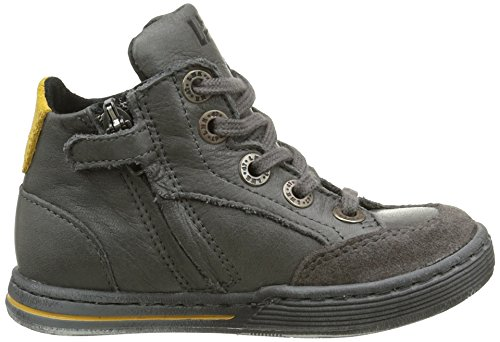 Little Mary Jungen Alberto Hohe Sneakers Grau (Sauvage Gris Fonce)