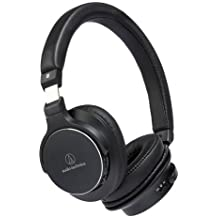 Audio-Technica ATH-SR5BT Diadema Binaurale Alámbrico/Inalámbrico Negro - Auriculares (Alámbrico/Inalámbrico, Diadema, Binaurale, Circumaural, 5 - 40000 Hz, Negro)