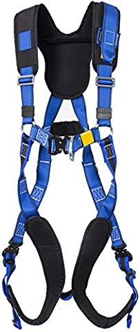 G-Force P34EL Quick Release 2 Point Full Body Height Safety Fall Arrest Harness with Elasticated Legs M-XL