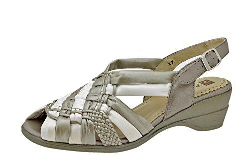 Scarpe donna comfort pelle Piesanto 2562 sandali comfort larghezza speciale
