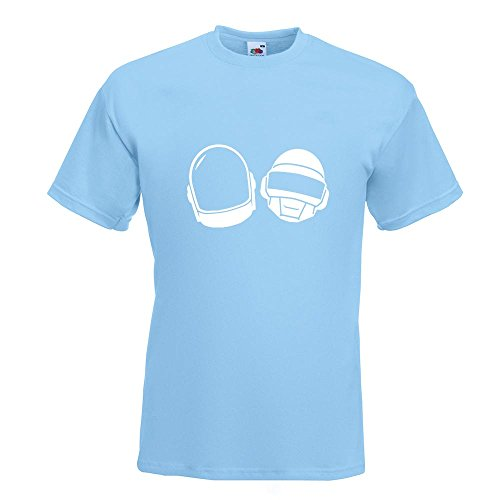 KIWISTAR - Homework T-Shirt in 15 verschiedenen Farben - Herren Funshirt bedruckt Design Sprüche Spruch Motive Oberteil Baumwolle Print Größe S M L XL XXL Himmelblau