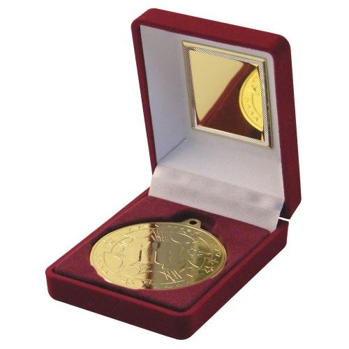 35-martial-arts-gold-medal-with-presentation-case-plus-free-engraving-up-to-30-letters-on-back-of-me