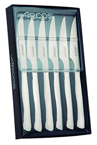 Arcos-378200-Juego-de-cuchillos-chuleteros-110-mm-6pzas