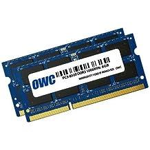 OWC 2x 8GB, PC8500, DDR3, 1066MHz, DDR3, Ordenador portátil, 204-pin SO-DIMM, 0–85°C, 2x 8GB, Azul