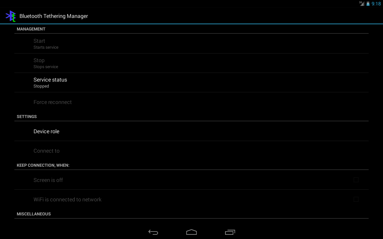 Bluetooth Tethering Manager: Amazon co uk: Appstore for Android