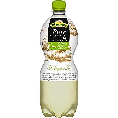 Pfanner Pure Tea Ingwer-Zitrone, 6er Pack, 6 x 1 l EINWEG