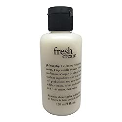 Philosophy Shampoo, Shower Gel and Bubble Bath 4 Fl Oz (Fresh Cream) by Philosophy