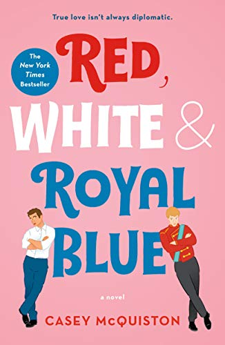 Royal Blue Fan (Red, White & Royal Blue: A Novel (English Edition))