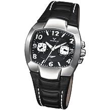 Viceroy Fernando Alonso - Reloj de mujer de cuarzo, correa de piel color negro