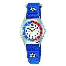 Lorus Boys Analogue Quartz Watch with Nylon Strap RG247KX9