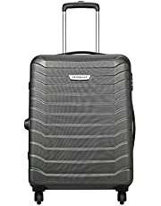 Aristocrat Juke Polycarbonate 65 cms Grey Hard Sided Suitcase (JUKE65TMGP)
