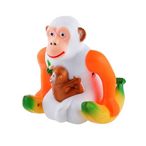 MagiDeal Elektro überspringen Affe mit Bananen Kinder Musik Spielzeug Haus Dekor (Bananen-musik)