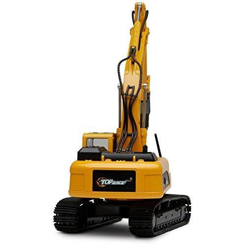 RC Auto kaufen Baufahrzeug Bild 2: Top Race Metalldruckgussbagger Drill Traktor, Bau Spielzeugschlepper - Metallbohrer (TR-218D)*
