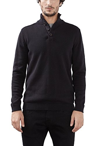 ESPRIT 116EE2I034, Pull Homme, Noir (Black), XX-Large (Taille fabricant: X-Large)
