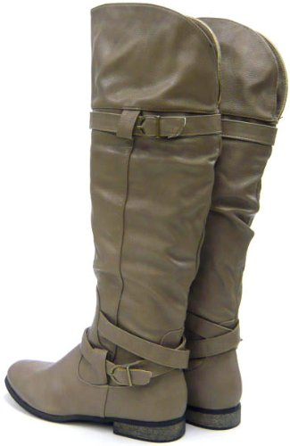 Schuh-City Kunst Fell Winter Boots gefütterte Damen Schuhe Neu Grün