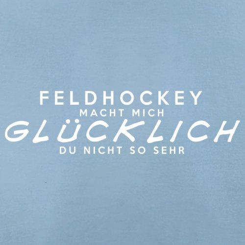 Feldhockey macht mich glücklich - Herren T-Shirt - 13 Farben Himmelblau