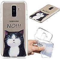 Everainy Samsung Galaxy A6 Plus 2018/A6+ (2018) Hülle Silikon Transparent Gummi Cover Hüllen für Galaxy A6+ (2018... preisvergleich bei billige-tabletten.eu