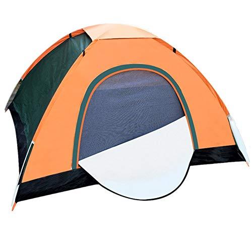 YOOFINE Pop Up Strandzelt Automatisches Outdoor-Zelt mit Tragetasche für 3 Personen von Innen Dunkel und kühl