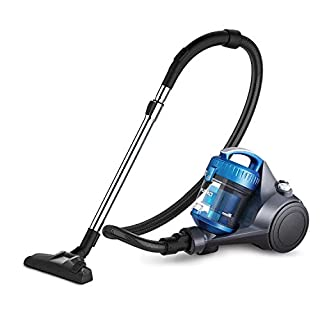 Eureka R300 Cylinder Vacuum Cleaner, Powerful Compact Lightweight Bagless Vacuum Cleaner for Multi-Floors and Carpets