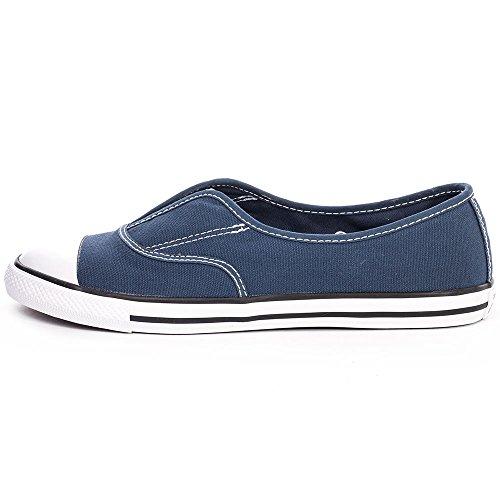 Converse Mandrini 551517C Chuck Taylor All Star Cove Slipper Blu Navy Blau