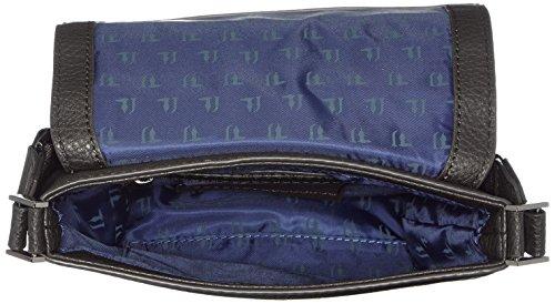 Trussardi Jeans 71b185xx53, Borsa Organizer Portatutto Unisex, 22x25x4 cm (W x H x L) Nero