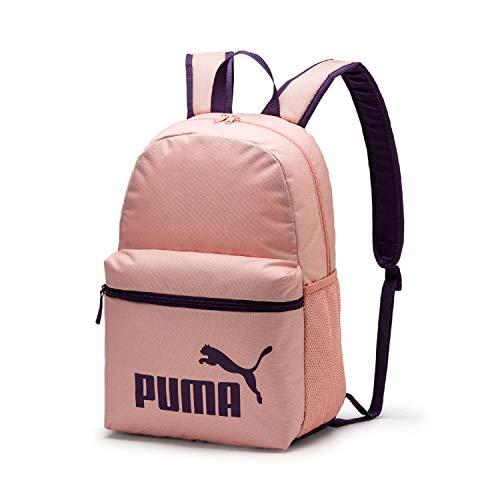 Puma Phase Rucksack, Peach Bud/Indigo, One Size