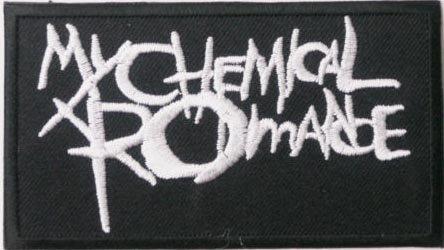 My Chemical Romance Écusson brodé Badge Patch 9,5cm x 5,5cm
