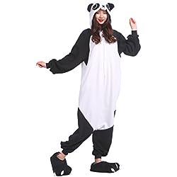 YUWELL Kigurumi Pijamas Unisex Adulto Anima Traje Disfraz Onesie Kigurumi Pyjamas Navidad Cosplay, Kung Fu Panda S (Height:150-160cm)