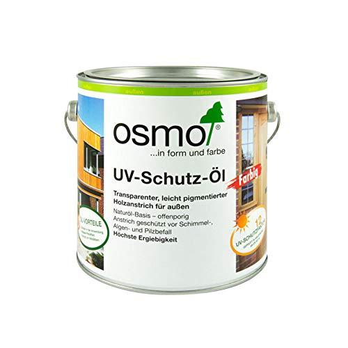 Osmo 429D UV-Schutz-Öl mit aktiven Inhaltsstoffen-naturfarben, 2,5 Liter