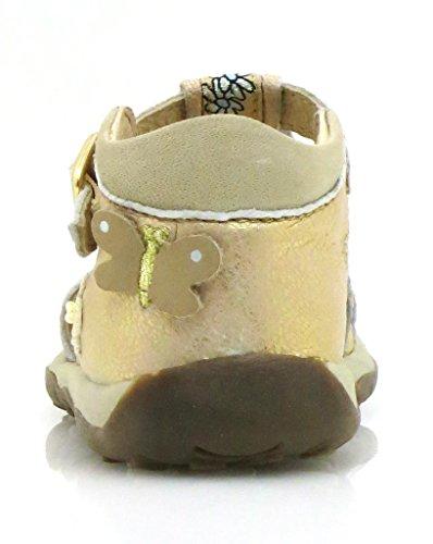 Giesswein Sandales Sandales en cuir Fille cuir neuf Or