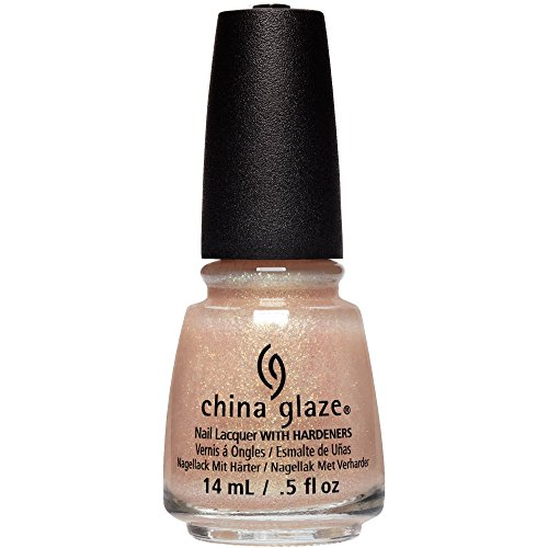 China Glaze Nail Lack mit hardeners, 14 ml, Queen Bitte.