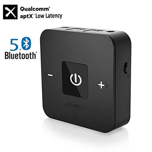 Golvery Bluetooth V5.0 Receptor transmisor con TOSLINK óptico / 3.5mm / RCA,...