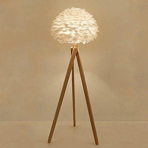 Stehlampe Log Farbe Massivholz Kunst Stativ Stehleuchte kreative Feder Lampe Gästezimmer Hotel Lobby Beleuchtung Wohnzimmer -