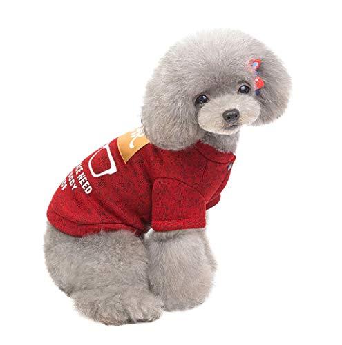 Haustier Hund Kleidung Hund Weste Brief Gedruckt Sweatshirt T-Shirt Knopf Jacken Mantel Kostüme Mode Warme Overall Doggy Bekleidung für Kleine Hund Welpen Katze für Herbst Winter TWBB -