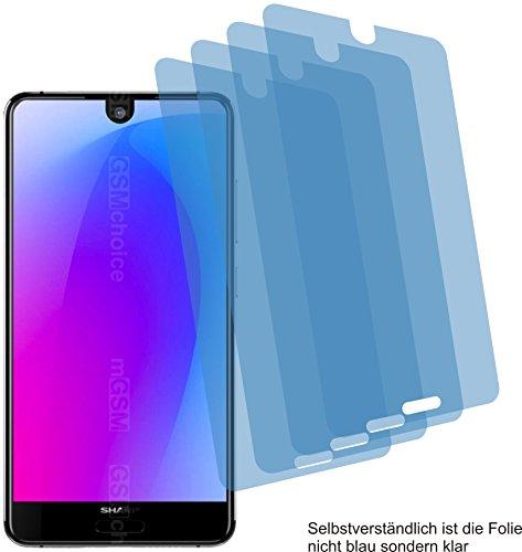 Crystal Case Sharp (4x Crystal clear klar Schutzfolie für Sharp Aquos S3 mini Displayschutzfolie Bildschirmschutzfolie Schutzhülle Displayschutz Displayfolie Folie)