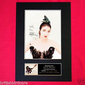 KATE BUSH Signed reproduction autograph Mounted Photo PRINT A4 210 x 297mm high quality Print