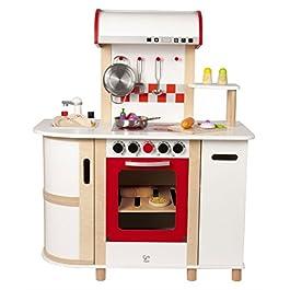 Hape E8018 – Cucina con Carrello, Multicolore