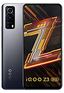 iQOO Z3 5G (Ace Black, 8GB RAM, 256GB Storage) | India's First SD 768G 5G Processor | 55W FlashCharge | Upto 9 Months No Cost EMI | 6 Months Free Screen Replacement