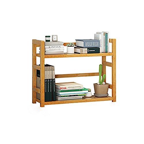 Schreibtisch-Top Storage Organizer 2 Regal & 2 Pull-Out-Schubladen Stationäre Bürobedarf-DIY aus Holz Schreibtisch Top-Organisation stationäre Lagerung Regale (Size : L36*18*43cm) (2-tier-pull-out-organizer)