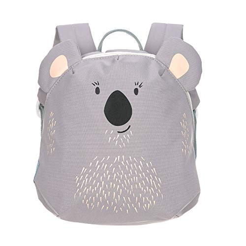 LÄSSIG Kinderrucksack für Kita Kindertasche Krippenrucksack mit Brustgurt/Tiny Backpack, About Friends Koala