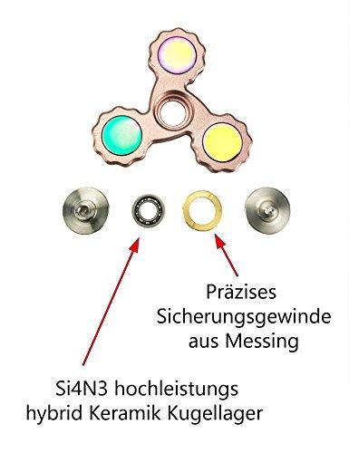 Fidget Spinner New Generation einfarbig 7,3cm