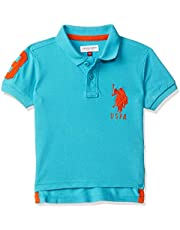 US Polo Association Boy's Plain Polo