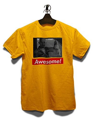 Awesome 22 T-Shirt Gelb