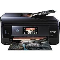 Epson Expression Photo XP-860 Tintenstrahl-Multifunktionsgerät (Drucken, Scannen, Kopieren und Fax) schwarz