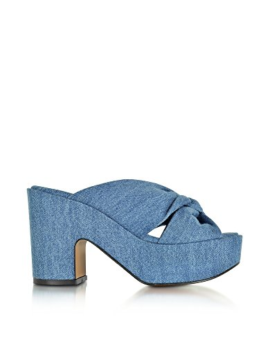 ROBERT CLERGERIE SANDALI DONNA 3003061132 DENIM BLU