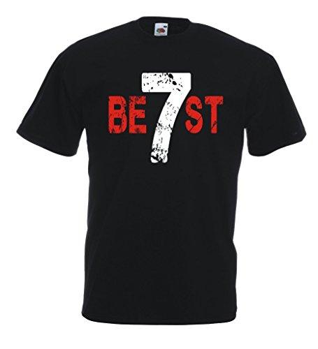 Settantallora - T-shirt Maglietta J420 Best 7 Taglia S